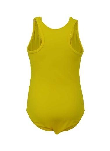 Dagi Kız Çocuk Yüzücü Mayo Sarı